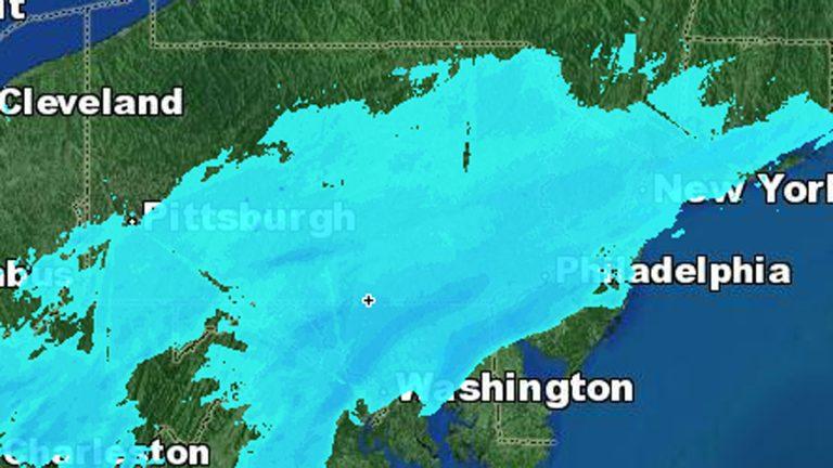 (Electronic Image courtesy of NBC10 weather)
