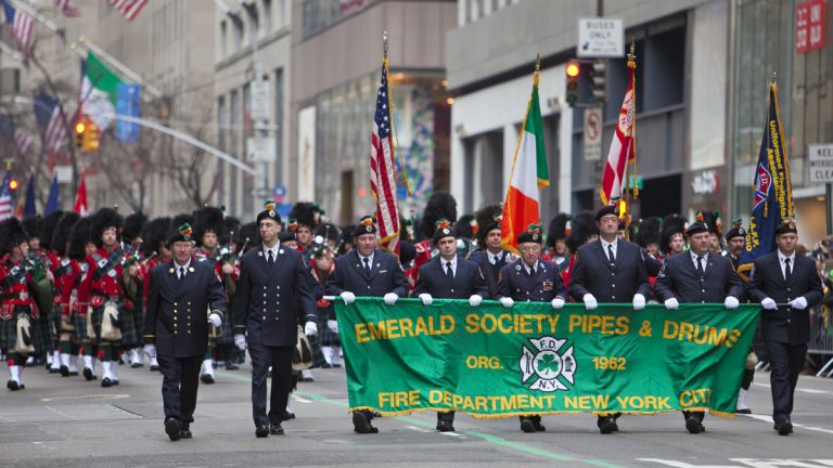 New York City St. Patrick's Day Parade organizers have agreed to lift a ban on gay marchers. Philadelphia's St. Patricks' Day Parade never had such a ban, says director Michael Bradley.(<a href=