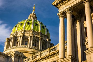 Pennsylvania's House Labor and Industry Committee held a hearing Wednesday at the Harrisburg Capitol on Gov. Tom Wolf's plan for gradually increasing the minimum wage to $15. (ShutterStock)