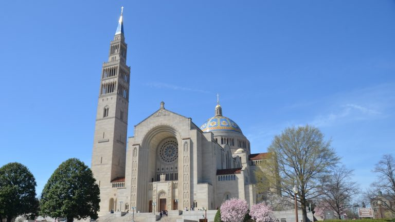 Head to DC to check out the Basilica of the National Shrine of the Immaculate Conception (Victoria Lipov/Shutterstock.com)