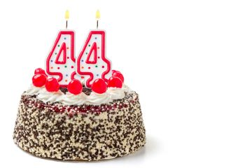 (<a href='http://www.shutterstock.com/pic-223455295/stock-photo-birthday-cake-with-burning-candle-number.html'>Birthday cake</a> image courtesy of Shutterstock.com)