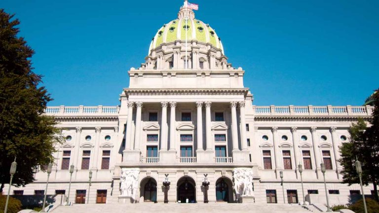 The Pennsylvania House passed measures to trim the size of the General Assembly. (<a href=