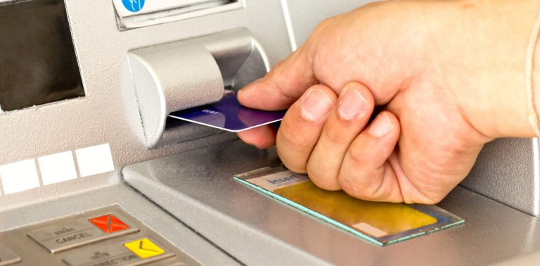 (<a href='http://www.shutterstock.com/pic-134890163/stock-photo-close-up-atm-for-withdraw-your-money.html'>ATM</a> image courtesy of Shutterstock.com)