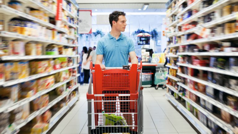 (<a href='http://www.shutterstock.com/pic-145165990/stock-photo-supermarket.html'>Grocery store image</a> courtesy of Shutterstock.com)