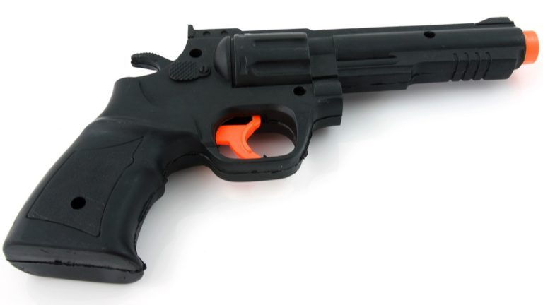 Toy gun (Courtesy of <a href=