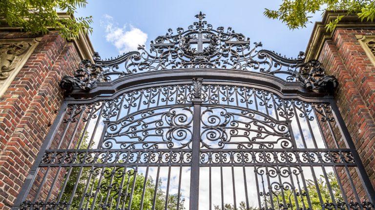 (<a href='http://www.shutterstock.com/pic-174437792/stock-photo-harvard-university-s-iron-gate-in-cambridge-massachusetts-usa.html?'>Harvard University iron gate</a> image courtesy of Shutterstock.com)