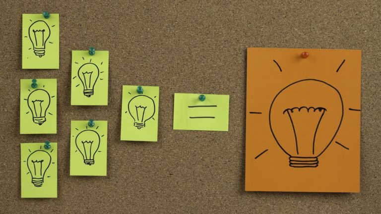 (<a href='http://www.shutterstock.com/pic-73921246/stock-photo-many-light-bulb-drawn-on-sticky-note-many-small-ideas-can-be-a-big-idea.html'>Innovagtion image</a> courtesy of Shutterstock.com)