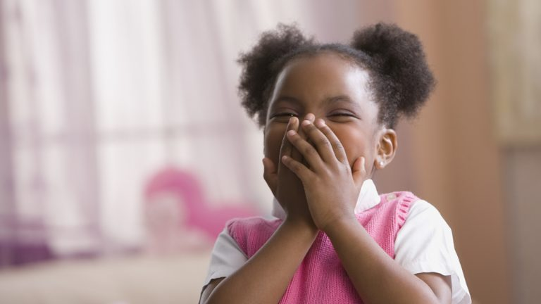 (<a href='http://www.shutterstock.com/pic-221277355/stock-photo-african-american-girl-laughing.html'>Little girl</a> image courtesy of Shutterstock.com)