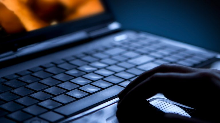 (<a href='http://www.shutterstock.com/pic-105533567/stock-photo-sex-on-laptop-computer-pornography.html'>Internet porn</a> image courtesy of Shutterstock.com)