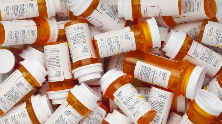(<a href='http://www.shutterstock.com/pic-181476452.html'>Prescription drug bottles</a> image courtesy of Shutterstock.com)