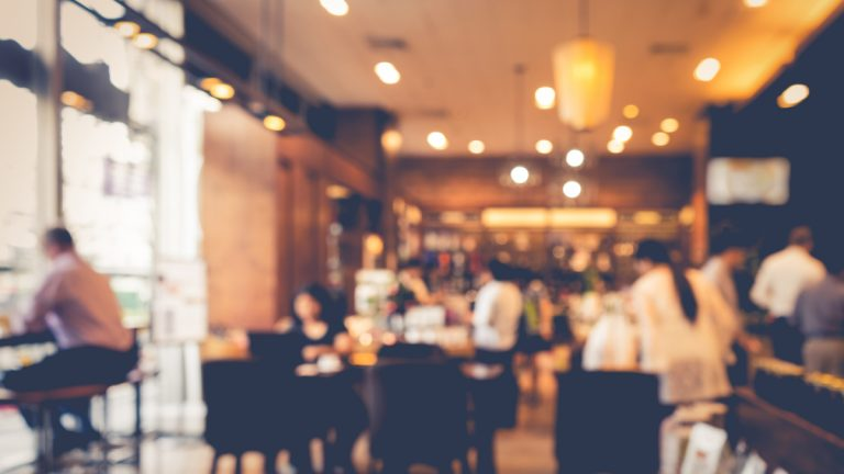 (<a href='http://www.shutterstock.com/pic-364151948/stock-photo-blur-coffee-shop-or-cafe-restaurant-with-abstract-bokeh-light-image-background-for-create.html?src=BtvTC8ucmbpdhZY2w_uTUw-1-0'>Restaurant</a> image courtesy of Shutterstock.com)