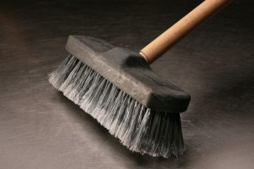 (<a href='http://www.shutterstock.com/pic-36436783/stock-photo-industrial-broom.html?src=csl_recent_image-1&ws=1'>Broom</a> image courtesy of Shutterstock.com)