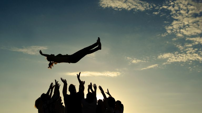 (<a href='http://www.shutterstock.com/pic-145518796/stock-photo-group-throwing-girl-in-the-air.html?src=csl_recent_image-3'>Teamwork</a> image courtesy of Shutterstock.com)