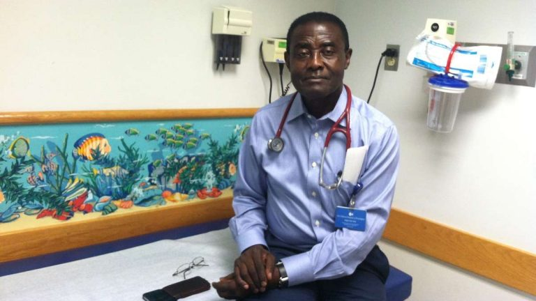 Doctor Kwaku Ohene-Frempong is an attending hematologist at Children's Hospital of Philadelphia and Director Emeritus, Comprehensive Sickle Cell Center. He has treated pediatric sickle cell disease for 40 years. (Laura Benshoff/WHYY)