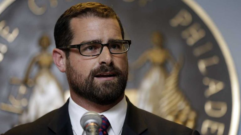 Pennsylvania Rep. Brian Sims has backed out of a congressional race, and will run for re-election to the Statehouse. (AP photo/Matt Rourke)