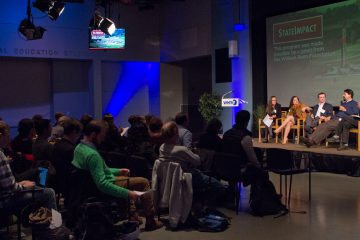 State Impact Pennsylvania hosted a forum on the Politics of Pennsylvania's Energy Future at WHYY studios on Tuesday, October 25th, 2016. (Kimberly Paynter/WHYY)