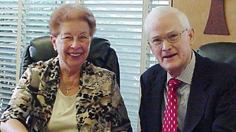 Sister Rita Margraff and Martin Brill, President and Treasurer, respectively, of Interfaith Housing Development Corporation (Image courtesy of Margraff)