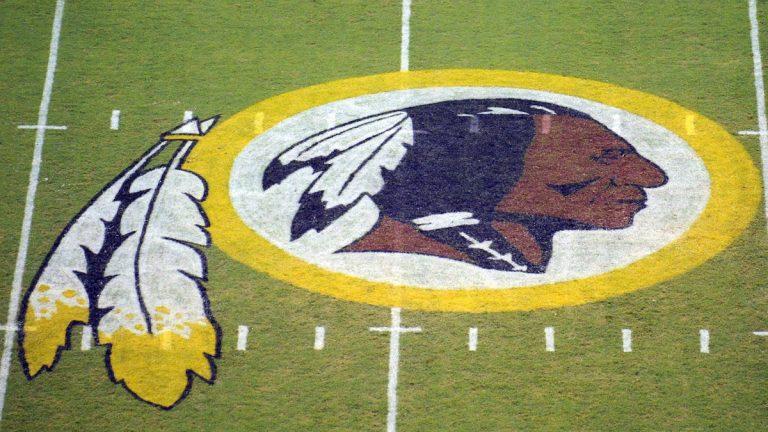 The Washington Redskins logo