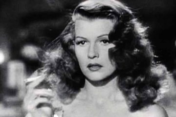 Screenshot of Rita Hayworth as Gilda in the trailer for the film Gilda. (<a href=