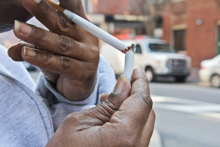 Smoking will be banned in Philadelphia Housing Authority properties starting August 5. (Kimberly Paynter/WHYY)