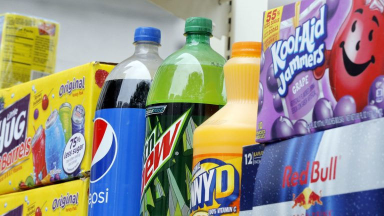 The fight against Philadelphia's sweetened drink tax is moving into the courts. (Emma Lee/WHYY, file)