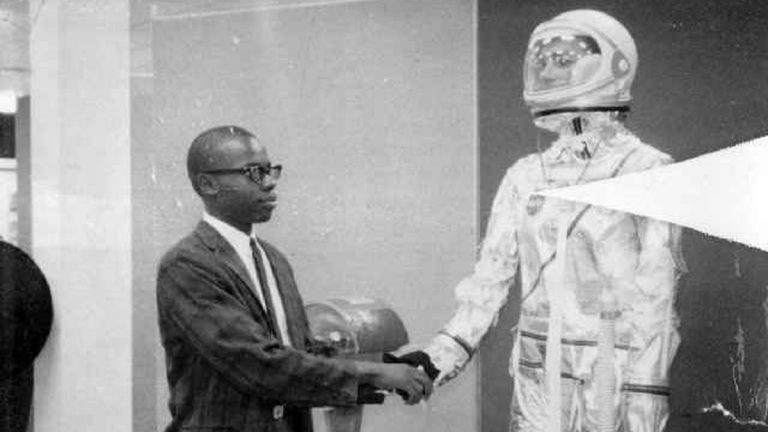 Morgan Watson and six other students from Southern University - Baton Rouge became NASA's first African American engineers in 1964. (Photo courtesy of University of Texas Press)