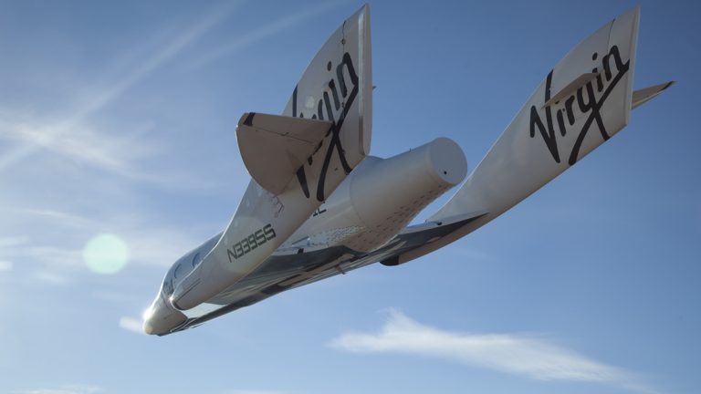 Virgin Galactic is preparing to take its first round of passengers on a suborbital space flight on SpaceShipTwo (pictured above) later this year. (AP Images)