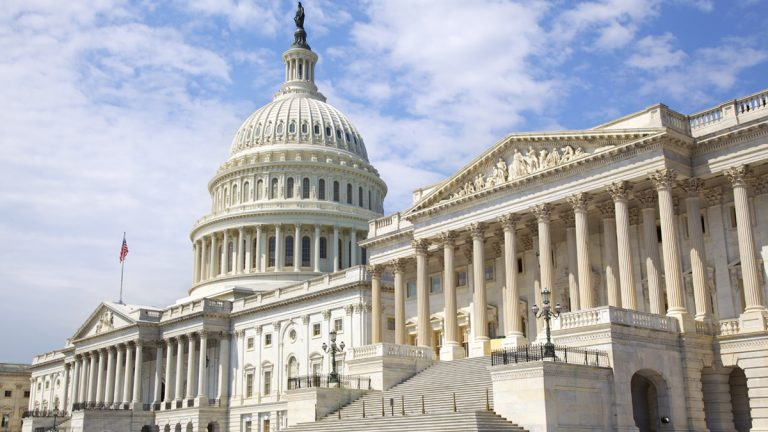 United States Capitol building, Washington, D.C.  (Photo via ShutterStock)