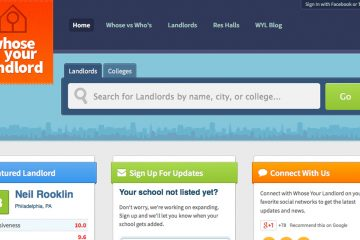 Temple grads invite students to rate off-campus landlords (Screenshot of whoseyourlandlord.com)