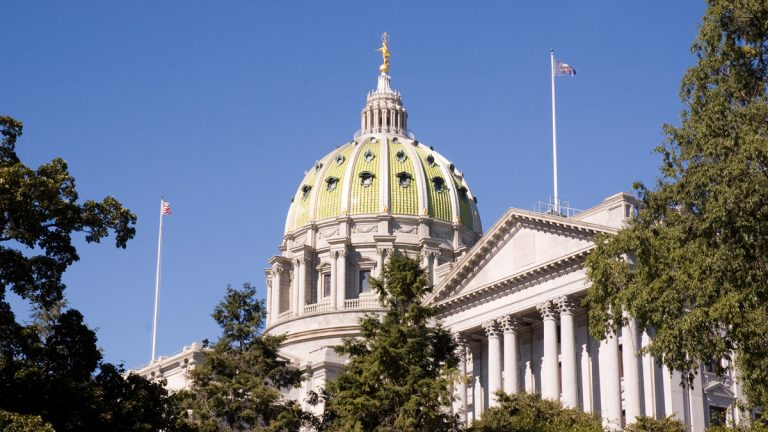 "Pennsylvania State Capitol(<a href=""http://www.shutterstock.com/pic-314434586/stock-photo-pennsylvania-state-capitol-building.html?src=bDQWsoZIczoe1QOjWlXJwQ-1-74"">Photo</a> via ShutterStock)"