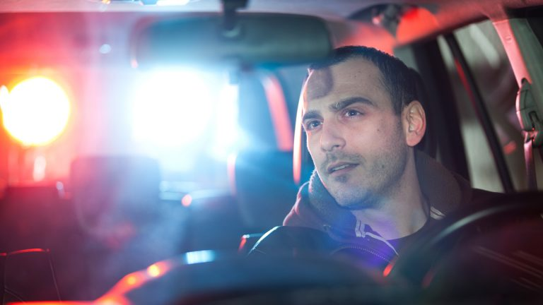 "(<a href=""http://www.shutterstock.com/pic-170726201/stock-photo-man-chaced-and-pulled-over-by-police.html?src=AItgf58xpYq1CvuYCKSigQ-1-4"">Photo</a> via ShutterStock)"