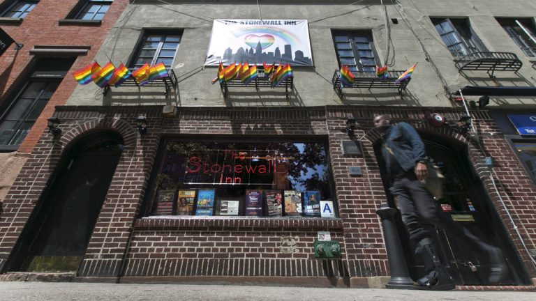 New York's Stonewall Inn is credited with being the birthplace of the gay rights movement in the United States. (AP Photo/Richard Drew, file)