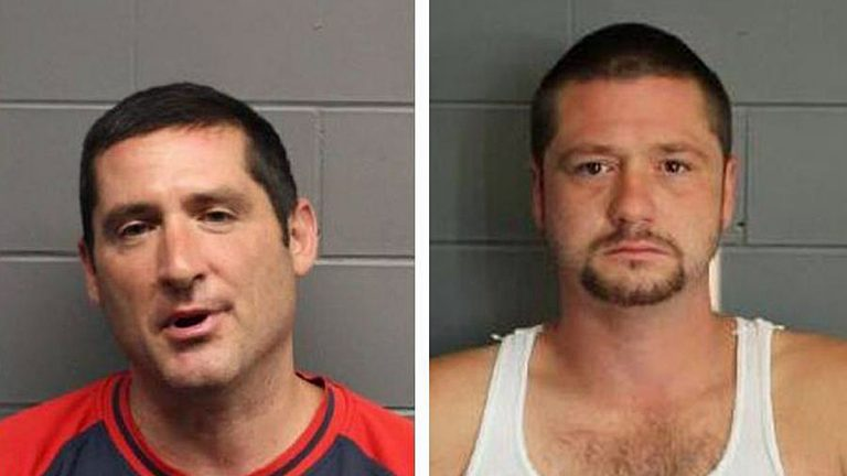 Scott Leader (left) and Steve Leader (right) (Image via Suffolk County District Attorney's Office/Boston Globe)