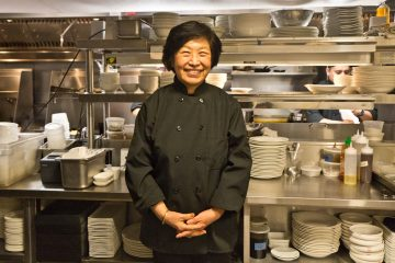 Susanna Foo is owner and chef of Suga in Center City. (Kimberly Paynter/WHYY)