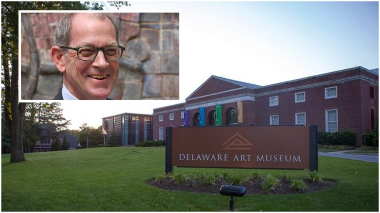 Sam Sweet (inset photo) has been named the new exec. dir. of Delaware Art Museum