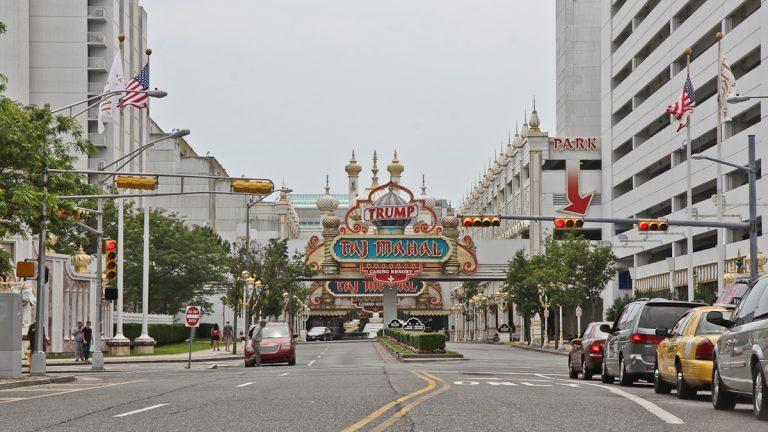 Trump Taj Mahal casino in Atlantic City. (Kimberly Paynter/WHYY)