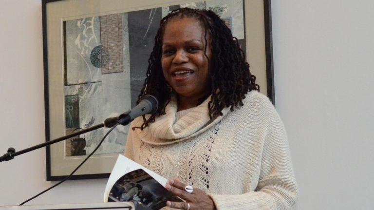 Germantown poet and lifelong Northwest resident M. Nzadi Keita. (Photo courtesy of J. Otis Smith)
