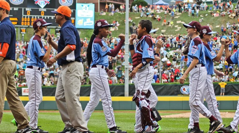 Philadelphia will honor the Taney Dragons Little League team with a parade. (Kimberly Paynter/WHYY)
