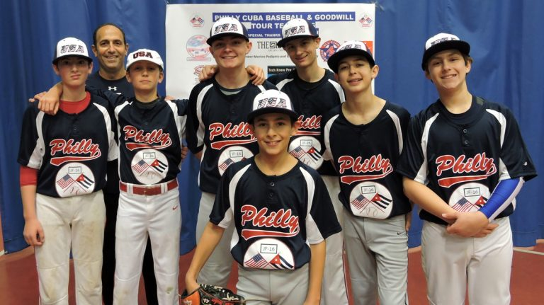 A youth baseball team from Lower Merion is in Cuba this week to  play and spread good will. (PhillyCubaBaseball)