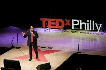 Mayor Michael Nutter at TEDxPhiladelphia 2011. (Photo courtesy of TEDxPhiladelphia)