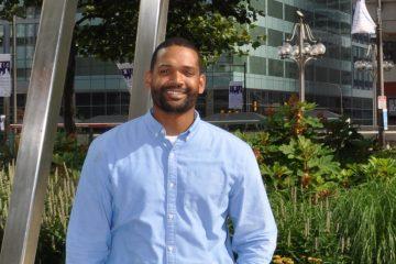 Philadelphia native Thaddeus Desmond will  speak at the Democratic National Convention Tuesday night. (Image courtesy of Tracy Buchholz)
