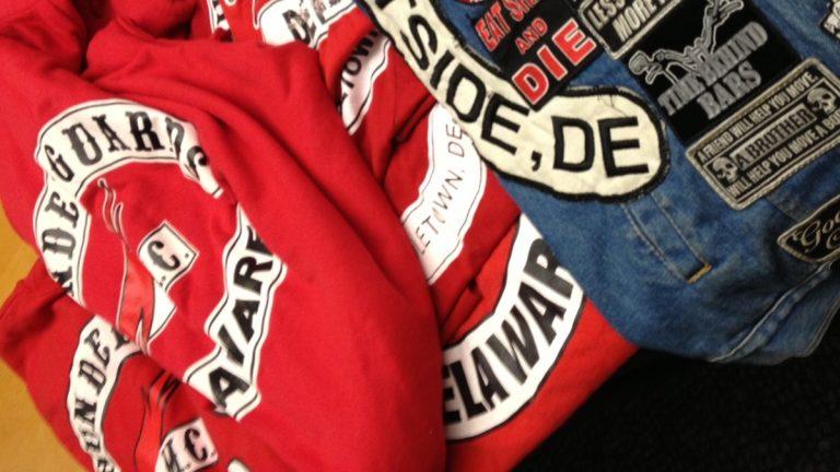 Thunderguards jackets (photo courtesy Del. State Police)
