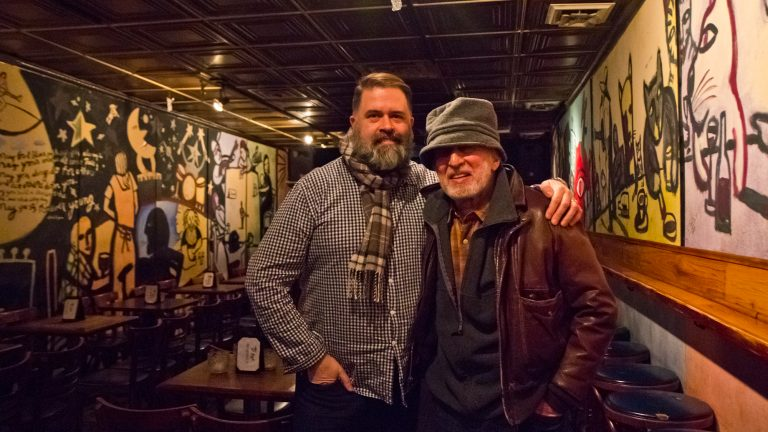 Tin Angel owner Donal McCoy and booker Larry Goldfarb say the venue will move to a new