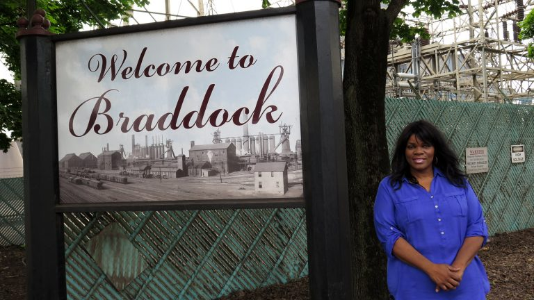 Braddock Borough Council President Tina Doose. (Irina Zhorov/WESA)