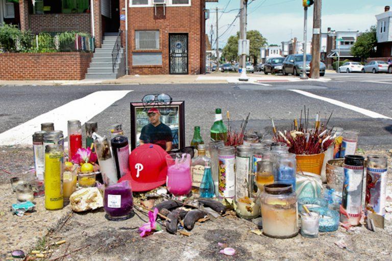 Street memorial for Vanna