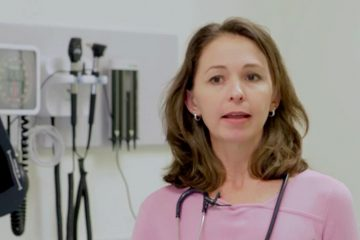 Dr. Kanani Titchen wants health care providers to be more aware of warning signs that a patient might be a victim of sex trafficking. (Photo from a Jefferson video)