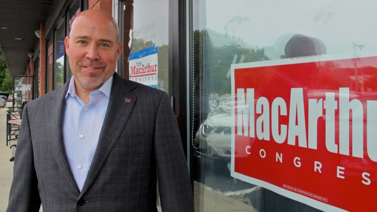 Republican candidate for NJ 3rd Congressional District. (Katie Colaneri/WHYY)