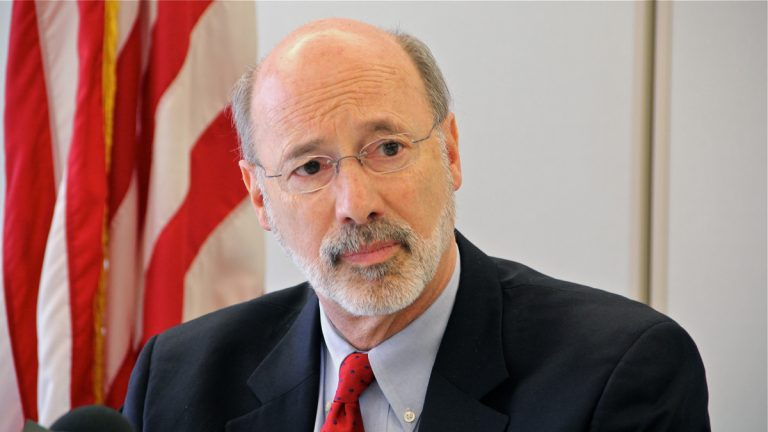 Governor Tom Wolf (Emma Lee/WHYY)