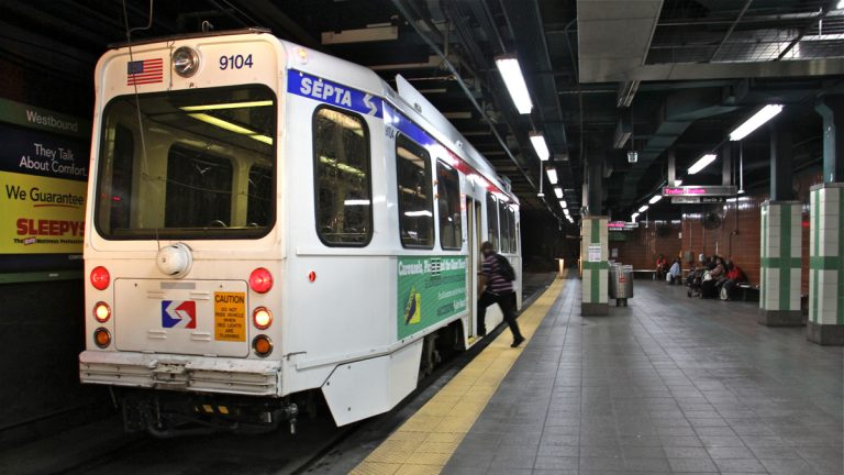 SEPTA will close trolley tunnels on nights and weekends starting Friday for maintenance and cleaning. (Emma Lee/WHYY)