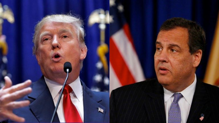New York billionaire Donald Trump and New Jersey Gov. Chris Christie elicit the strongest reactions from Garden State Republicans in a recent Fairleigh Dickinson PublicMind  poll.(AP photos)